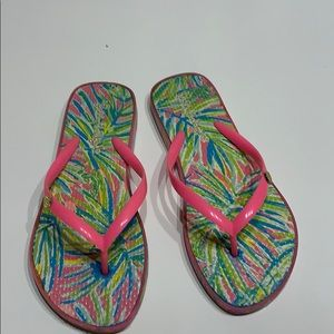 Shoes - Lilly Pulitzer Flip Flops
